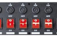 Dispatching cablé capoté bipolaire 19″ 2U 10 interrupteur
