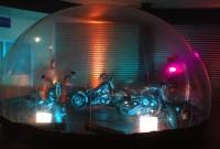 Bulles géantes 6 m x 3 m pour voitures / motos / vitrine