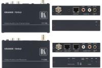 Transmetteur audio video kramer 711n/712 n + 400 m de cables rj 45 kramer