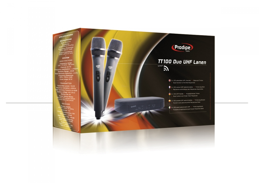 Prodipe TT100 Duo UHF Lanen 2HF