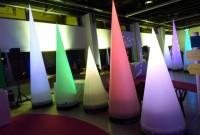 Cone ventilé lumineux