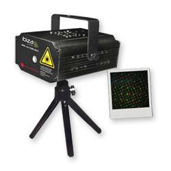 Laser vert et rouge multipoints