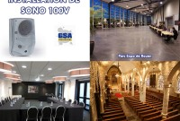 INSTALLATION DE SONO 100v