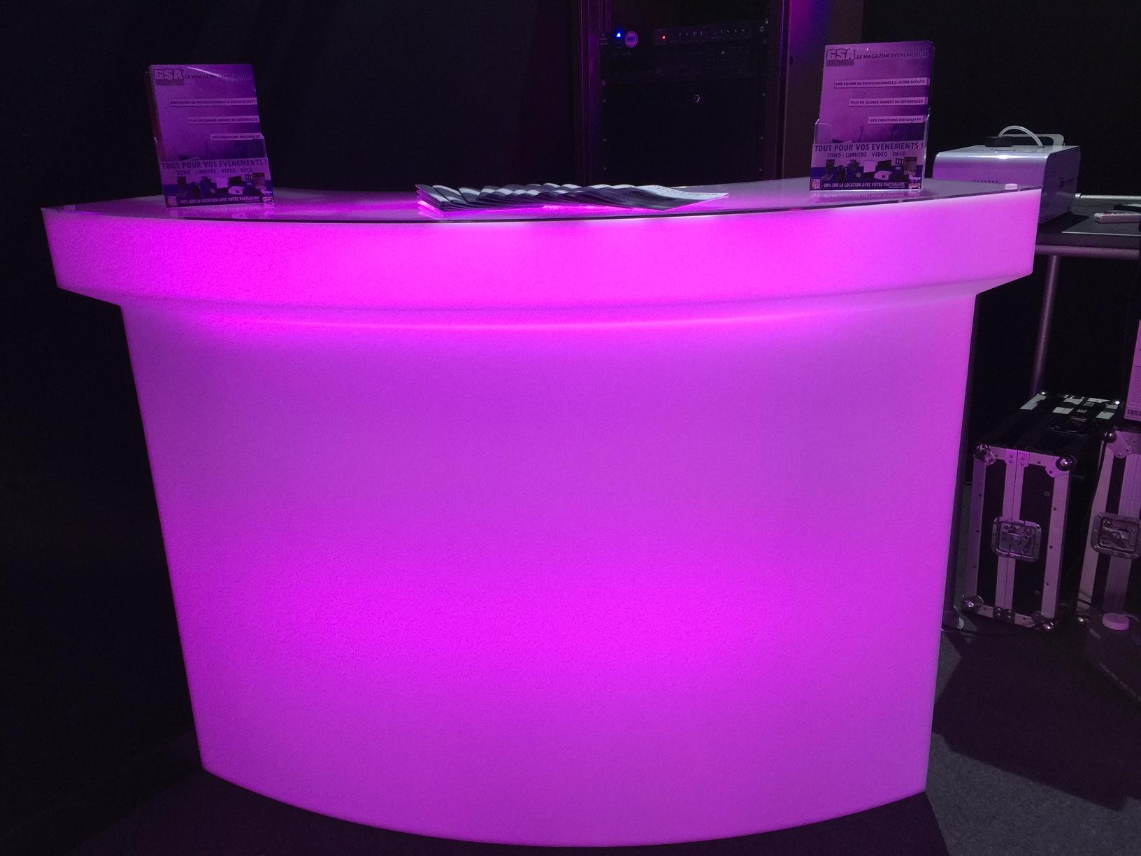 BAR LUMINEUX LED