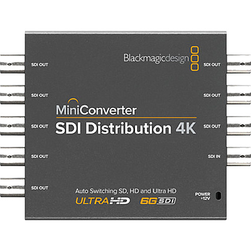 Blackmagic Convertisseur SDI Distribution 4K