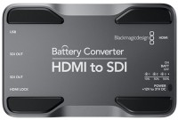 Blackmagic Hdmi-SDI batterie