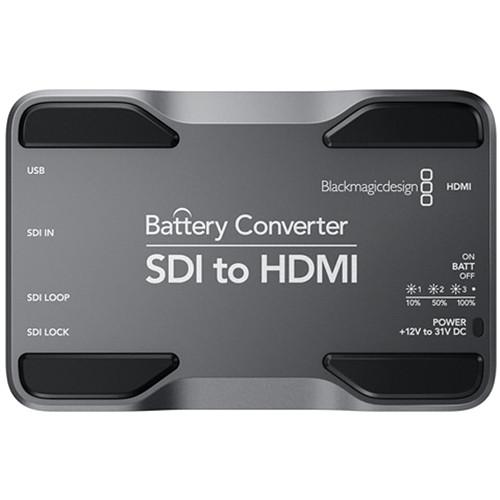 Blackmagic SDI-Hdmi Batterie