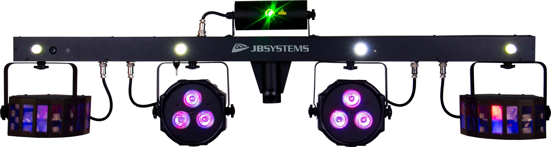 Easy pack Jb Systems 5 jeux de lumière avec télécommande!
