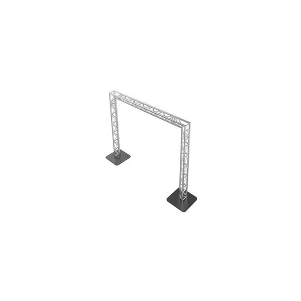 Arche aluminium pour entrée de salle, concession auto, événements, décoration