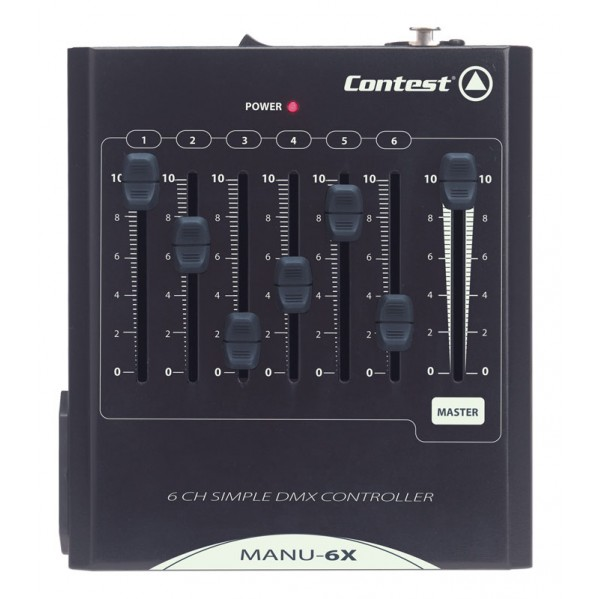 Console 6 canaux dmx contest