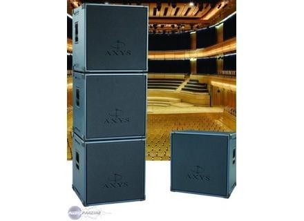 Enceintes AXYS U 22 650 watts amplifiées la paire