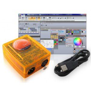 Interface dmx sunlite sl512bc (sans PC)
