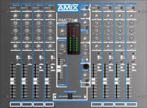 Table de mixage AMIX 72 DJ