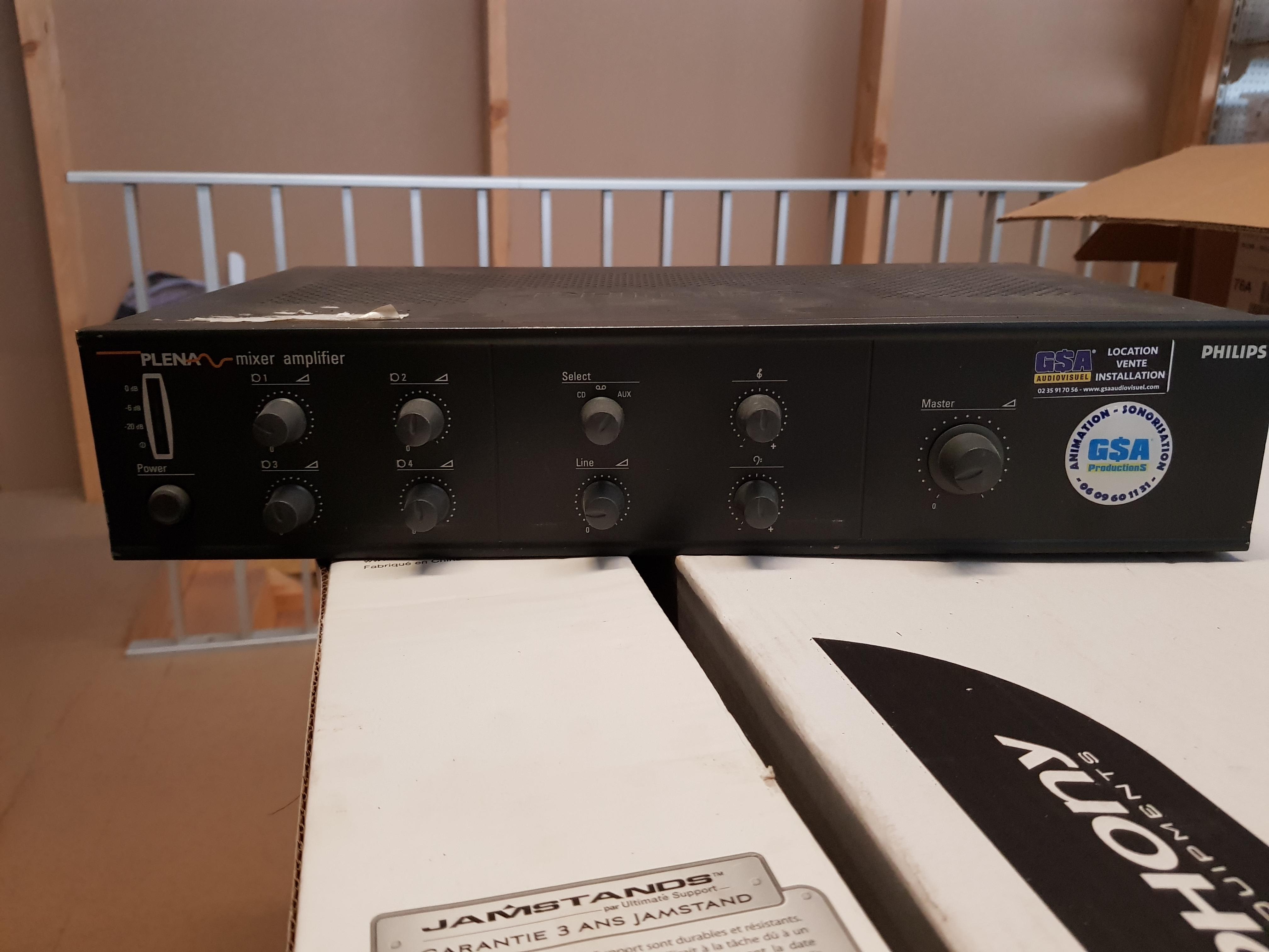 Amplificateur 100 Volts Philips
