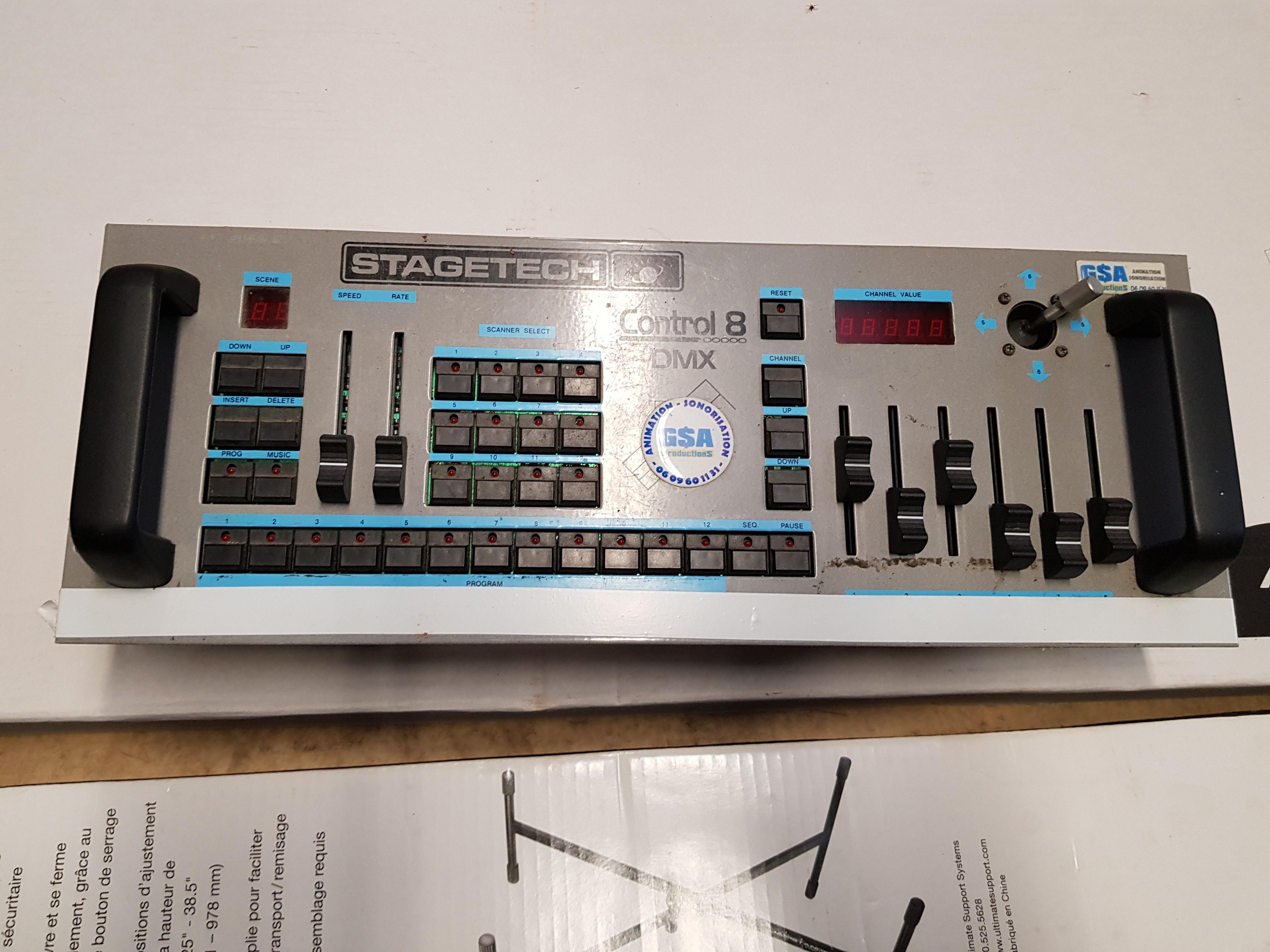 Contrôleur DMX Stage Tech