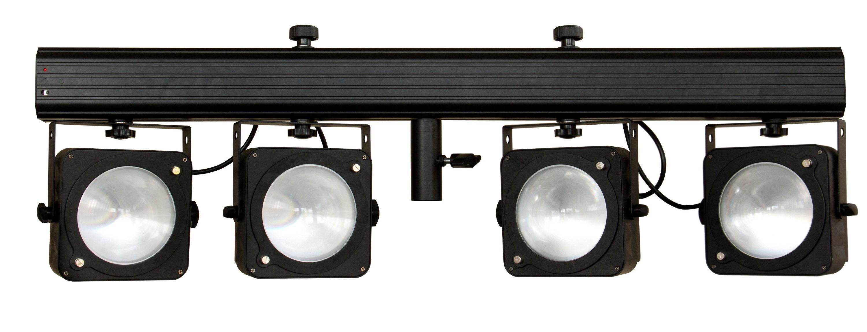 Pack Light Cob 4 Bar JB Systems avec télécommande et pieds