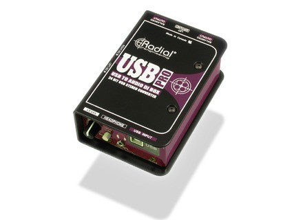 USB-Pro, Boîte de direct de la marque Radial Engineering.