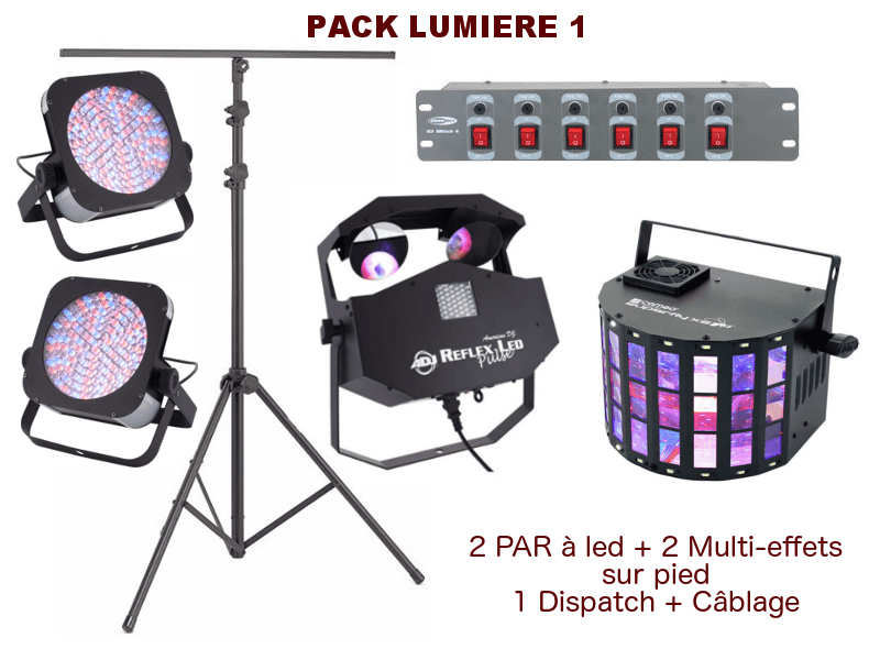 PACK LIGHT DJ DISCOUNT 1