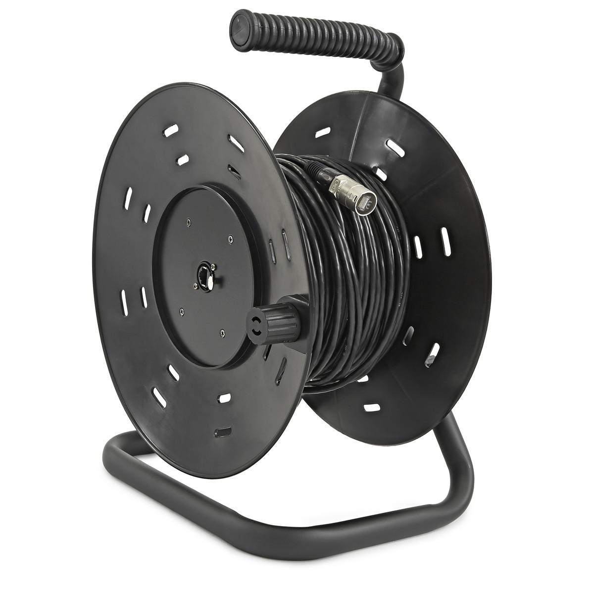 Câble Numérique Multipaire CAT5 avec Connecteurs Neutrik Ethercon, 50 Mètres