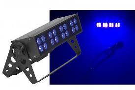 ADJ UV bar led 16 Lumière noire led