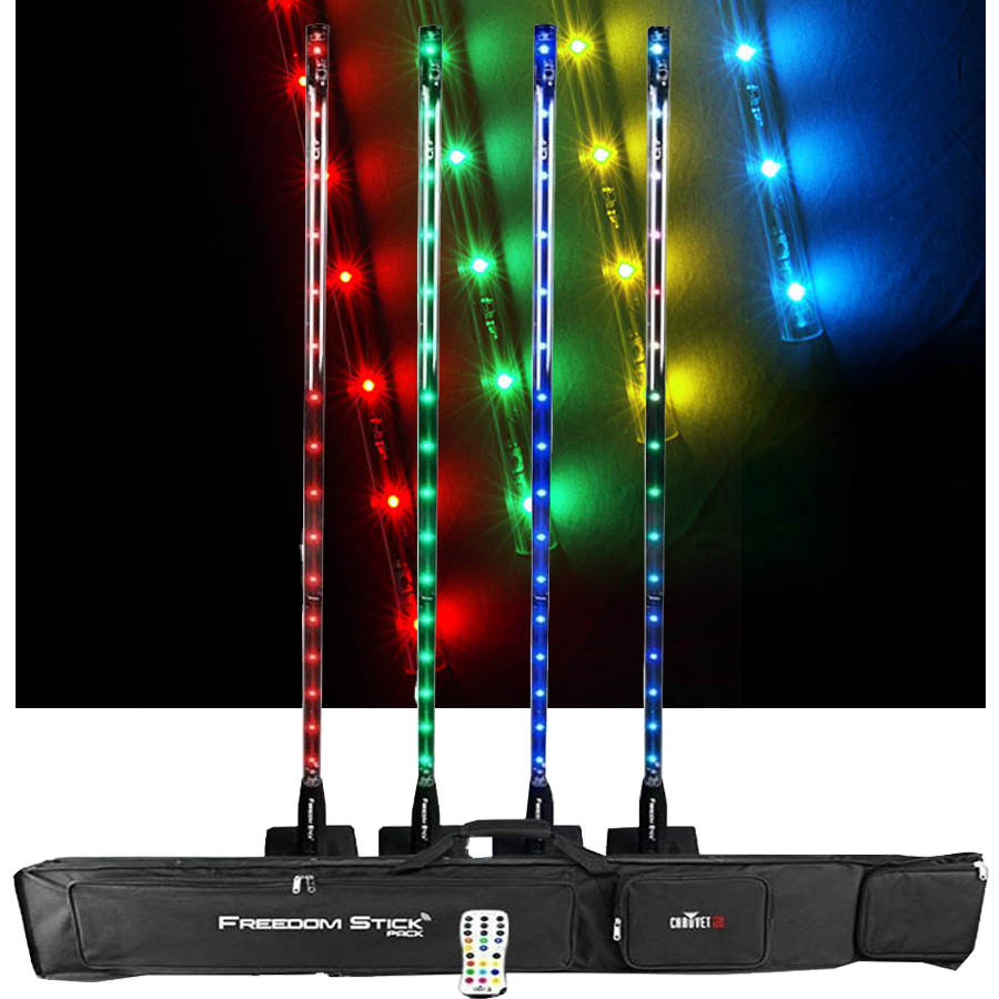 Freedom stick Chauvet DJ pack de 4