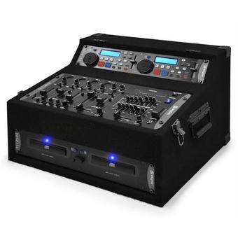 Pack Son 2 CD,Mix, 2 enceintes 300 watts amplifiées