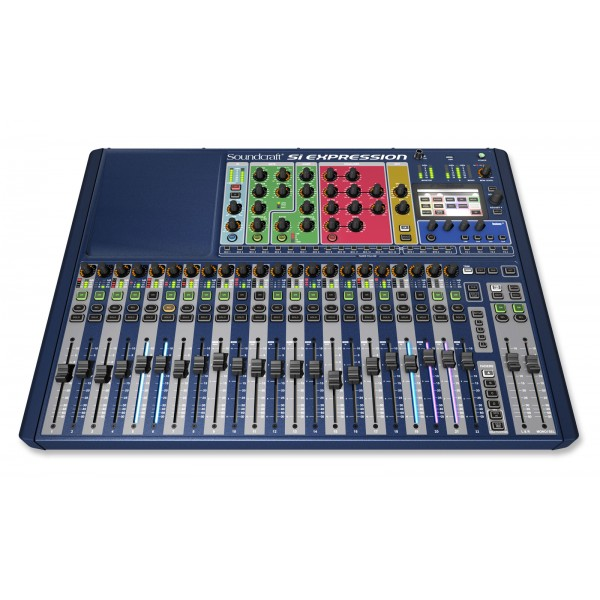 Soundcraft Si Expression 2 + RIO 50 m 24 entrées + IPAD