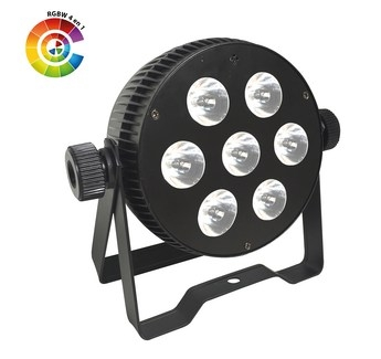 Pack 8 PAR LEd Slim 7x10w HEXA
