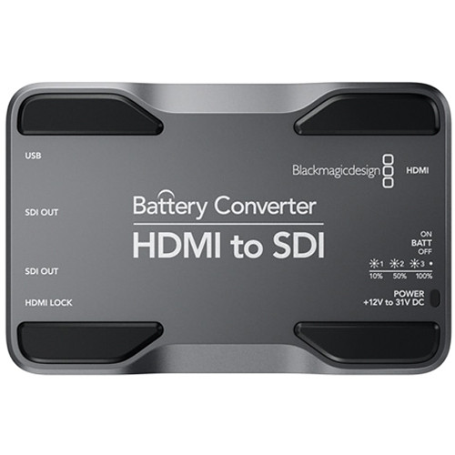 Blackmagic Hdmi-SDI batterie