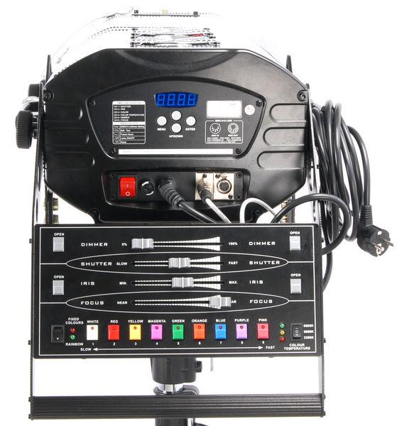 Projecteur de poursuite 1200 HMI + pied + fly case de transport et lampes