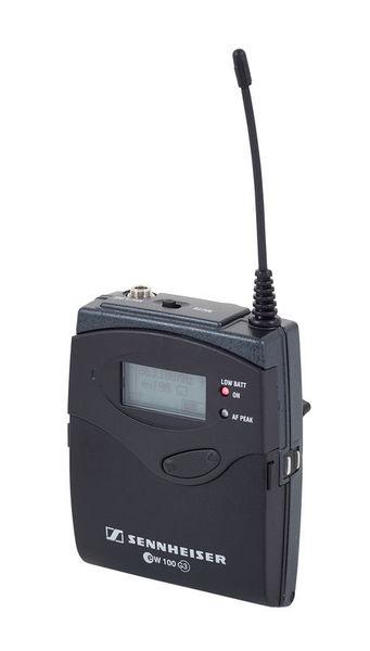 Pack micro cravate Sennheiser omni ME 2 + EW 112 G3 émetteur + récepteur