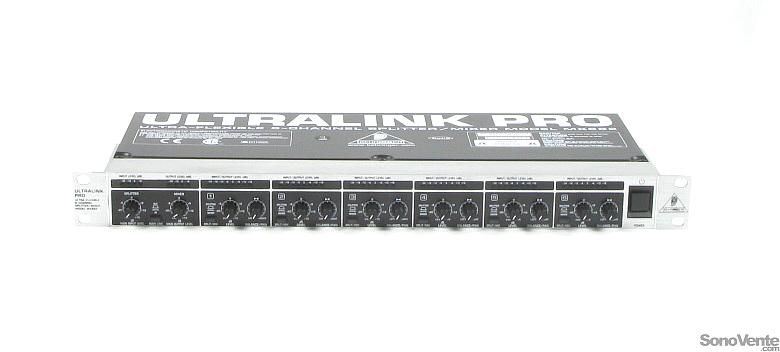 RÉPARTITEUR / ZONEUR / MELANGEUR BEHRINGER – MX882 ULTRALINK PRO
