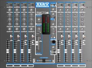 Table de mixage AMIX 72 DJ