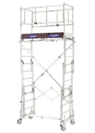 ECHAFFAUDAGE MOBILE X TOWER TUBESCA