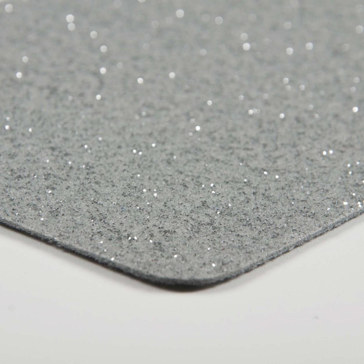 Moquette haut de gamme Glitter pailletée pour décoration
