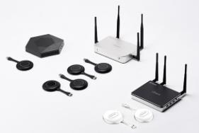 Système de présentation sans fil Infobit – iShare 202S, double-affichages, 2x S21 inclus